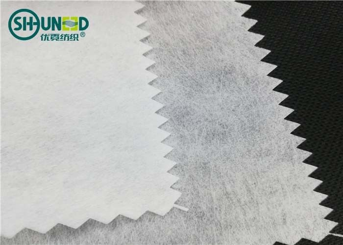 Airlaid 90gsm polyester/viscose cut away nonwoven embroidery backing paper fabric