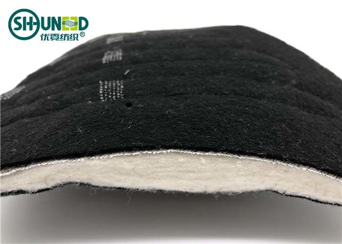 Black Needle Punched nonwoven shoulder pads for Men's overcoat and jacket cloth